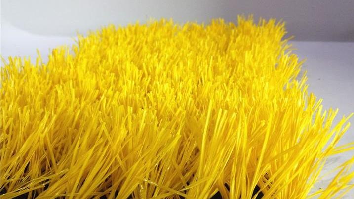 چمن مصنوعی زرد